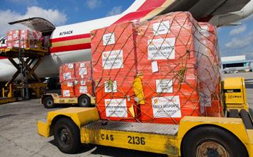 Humanitarian Relief Air Cargo